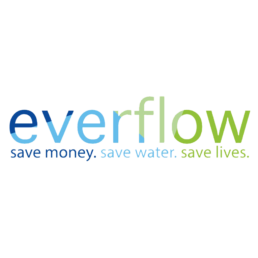 everflow logo water