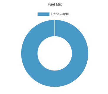 The Peoples Energy fuel mix